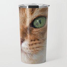 CLOSE KITTEN ENCOUNTER Travel Mug