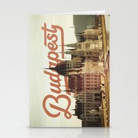 budapest Stationery Cards featuring Budapest by Amigo Vic