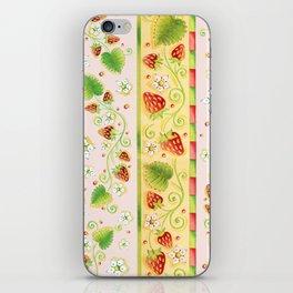 Strawberries and Cream iPhone Skin