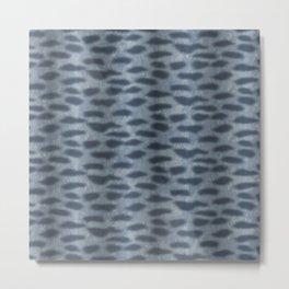 Tiger Shark Skin Metal Print