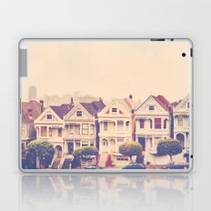 Darling do come see us! San Francisco Painted Ladies photograph Laptop & iPad Skin
