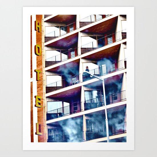 kinship via mechanical documentation Art Print