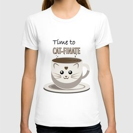 Time to Cat-finate T-shirt