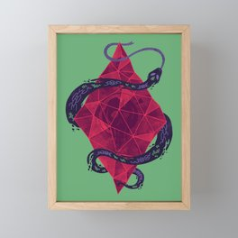 Mystic Crystal Framed Mini Art Print