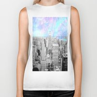 new york city Biker Tanks featuring New York City. by 2sweet4words Designs