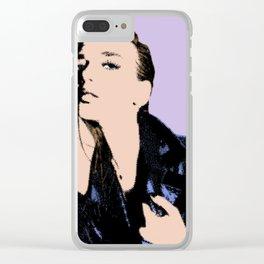Dua Lipa Clear iPhone Case