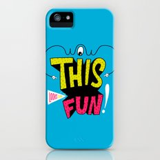 Wow this looks like fun! Slim Case iPhone (5, 5s)