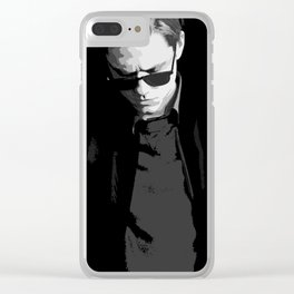 Aaron Tveit 12 Clear iPhone Case