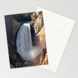 Lower Yellowstone Falls Stationery Cards