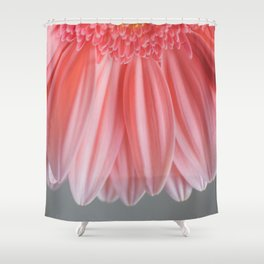 Pink With Layers Shower Curtain