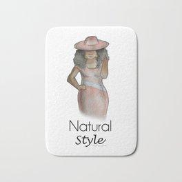 Natural Style Bath Mat