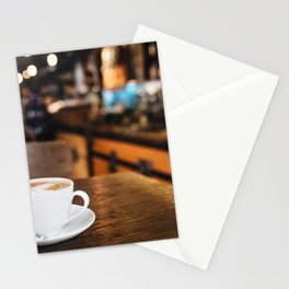 Capuccino In Italy Stationery Cards