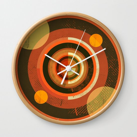 Textures/Abstract 77 Wall Clock