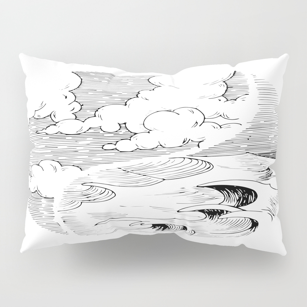 Storm In A Cup Pillow Sham by Adhesive PSH8492934
