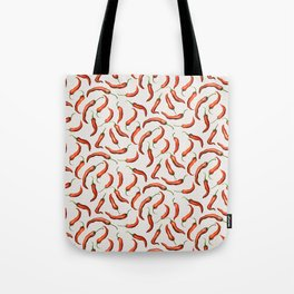 Pepper Pattern Tote Bag