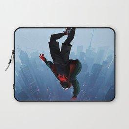 Miles Morales jump Laptop Sleeve