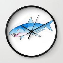 Sharky Shark Wall Clock