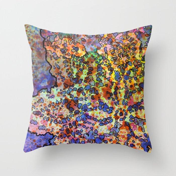 5, Inset B Throw Pillow