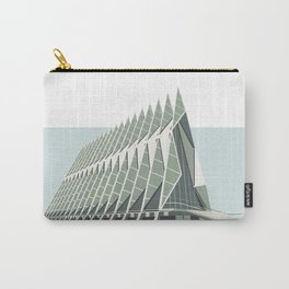 Colorado Springs Chapel Print Carry-All Pouch