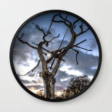 Dead of Winters Light Wall Clock