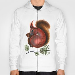 TinTin The Red Squirrel Hoody