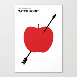MATCH POINT by Woody Allen. Canvas Print