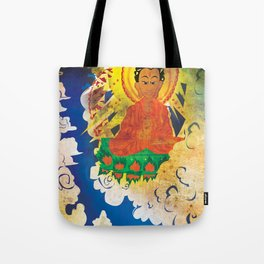 Sun Wukong Confronts Buddha Tote Bag