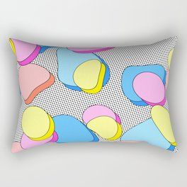 Stacking Pieces of Candy Rectangular Pillow