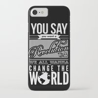 revolution iPhone & iPod Cases featuring Revolution.  by Creation Factory