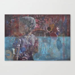 Swazi Art 5 Canvas Print