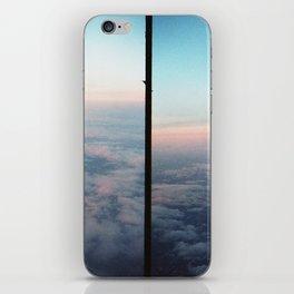 Aerial photo of Boston area - Sunset sky iPhone Skin