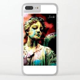 Angel colors fashion Jacob's Paris Clear iPhone Case