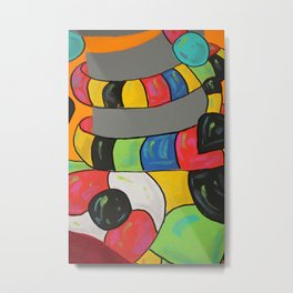 Juan Jewel Metal Print