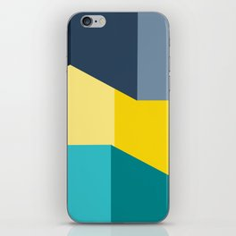 Almost Perfect- Simple Shapes iPhone Skin