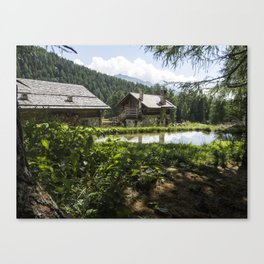 Nature in Italy Canvas Print