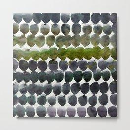 Color Jewels 9-2p by Kathy Morton Stanion Metal Print