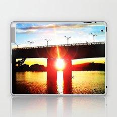 Queensway Bridge at Sunset Laptop & iPad Skin