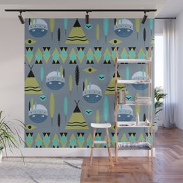 Cute children's American pattern 2 Wall Mural
