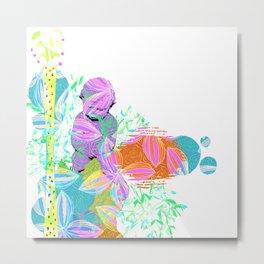 Cupid at rest Metal Print