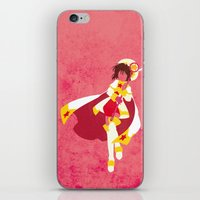 sakura iPhone & iPod Skins featuring Sakura by JHTY
