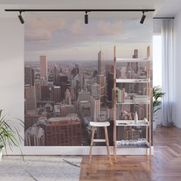 Downtown Chicago Skyline, Fine Art Photography Wall Mural