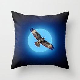 Moments - Full moon Throw Pillow