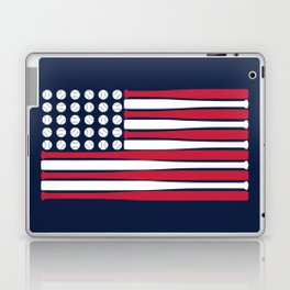 USA Baseball Flag Laptop & iPad Skin