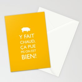 Fait chaud Stationery Cards