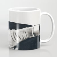 gangster Mugs featuring Original Gangster by Esau Rodriguez Art