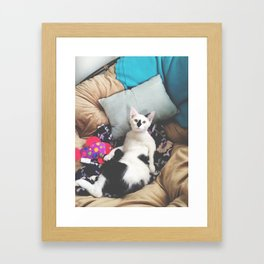 Happy Valentines Framed Art Print
