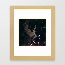 Bodies in Space: Flash Framed Art Print