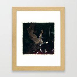 Bodies in Space: Flash Framed Art Print