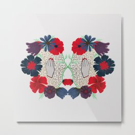 Flowerface pt. 2 Metal Print