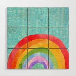 rainbow Wood Wall Art